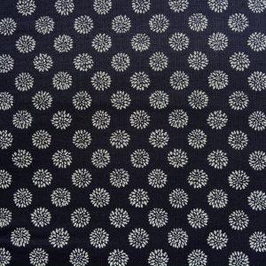 chrysanthemum japanese fabric