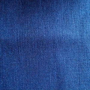 french blue cotton linen sashiko fabric