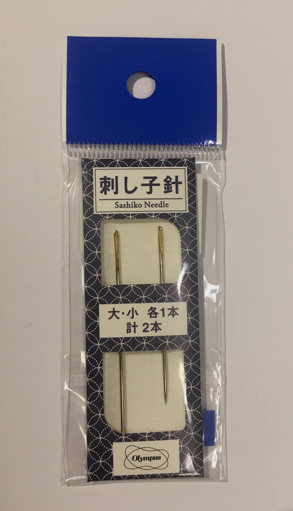 olympus sashiko needles two pack