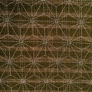 moss green asanoha japanese fabric