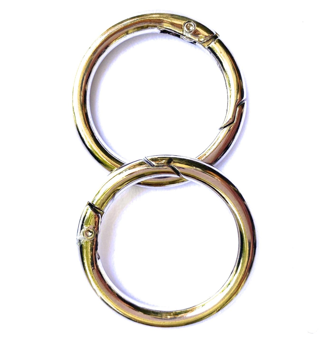 silver snap o rings