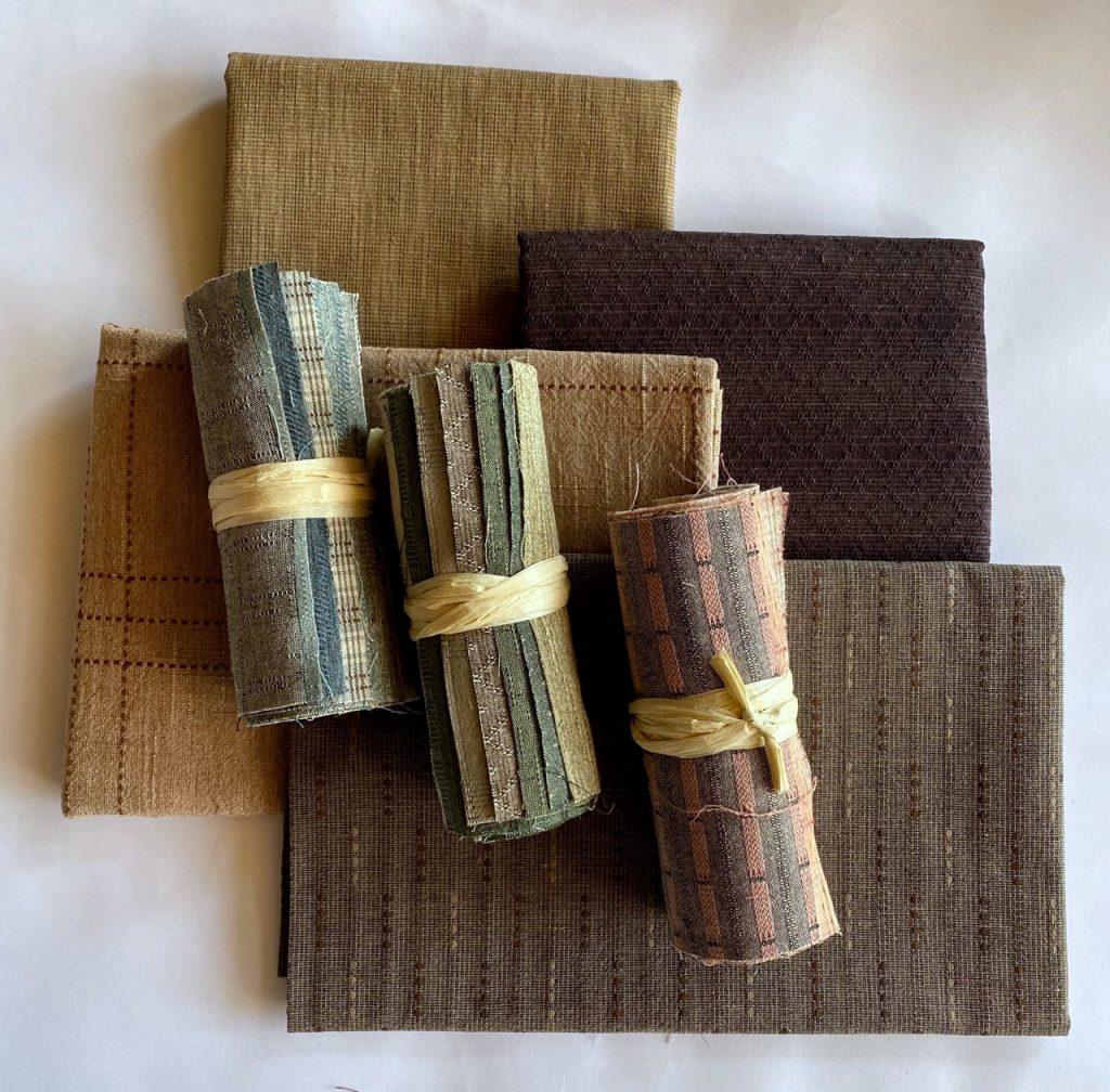 yarn-dyed pre-cut fabric
