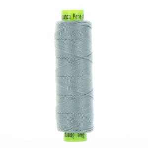 sue spargo eleganza grey perle cotton thread