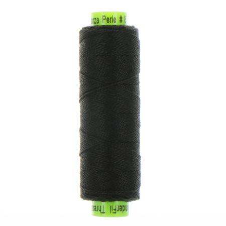 sue spargo eleganza black perle cotton thread