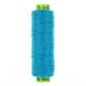 sue spargo eleganza aqua perle cotton thread