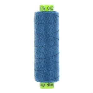 sue spargo eleganza steel blue perle cotton thread