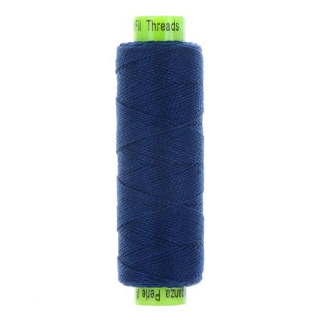 sue spargo eleganza indigo perle cotton thread