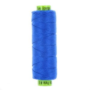 sue spargo eleganza bright blue perle cotton thread