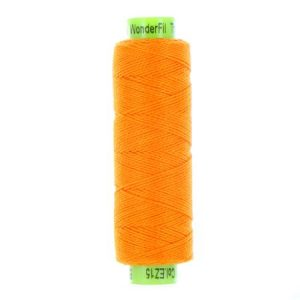 sue spargo eleganza orange perle cotton thread