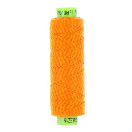 sue spargo eleganza orange perle cotton thread
