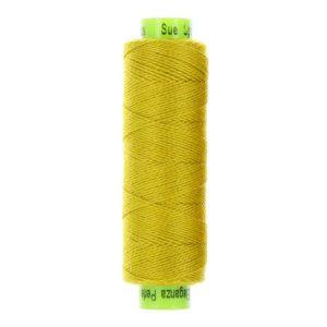 sue spargo eleganza lion mane yellow perle cotton thread