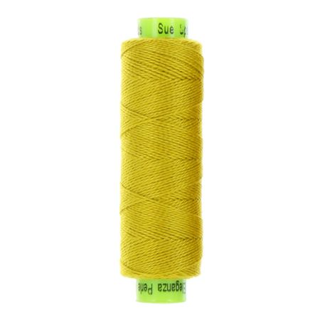 sue spargo eleganza lion mane yellow perle cotton thread