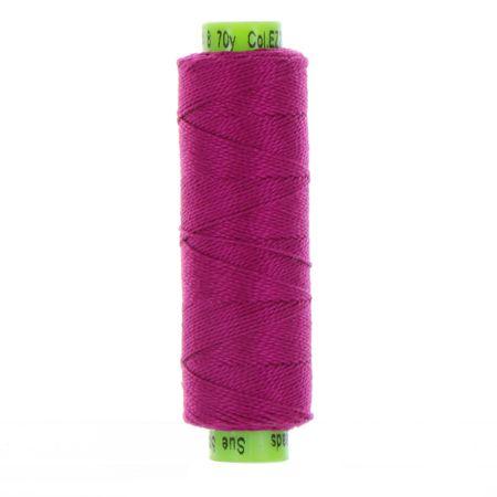 sue spargo eleganza fuchsia perle cotton thread