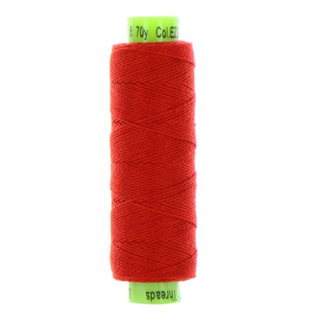 sue spargo eleganza rose red perle cotton thread