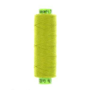 sue spargo eleganza citrus green perle cotton thread