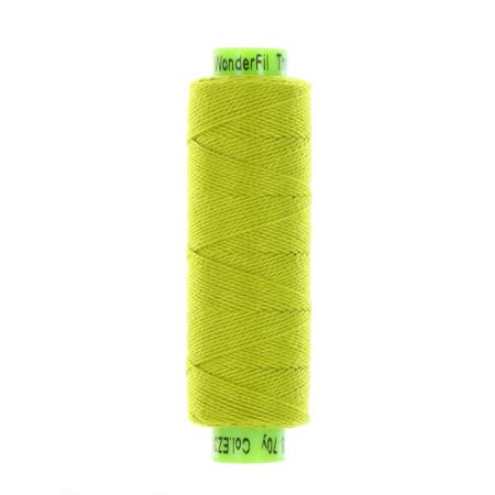 sue spargo eleganza citrus green perle cotton thread