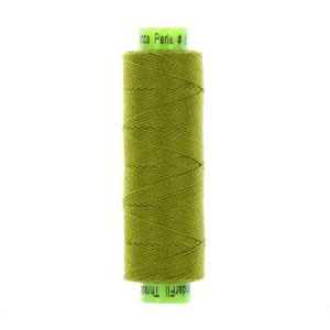 sue spargo eleganza bristle grass green perle cotton thread