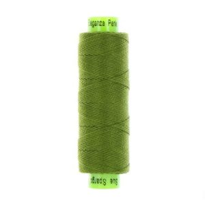 sue spargo eleganza lizard green perle cotton thread