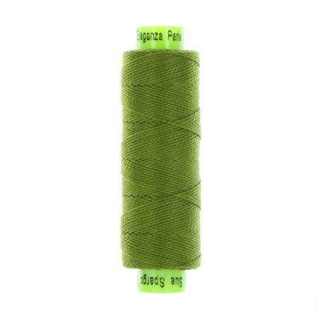 sue spargo eleganza lizard green perle cotton thread