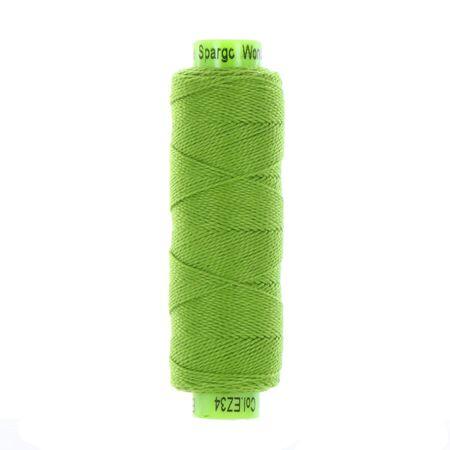 sue spargo eleganza frog green perle cotton thread
