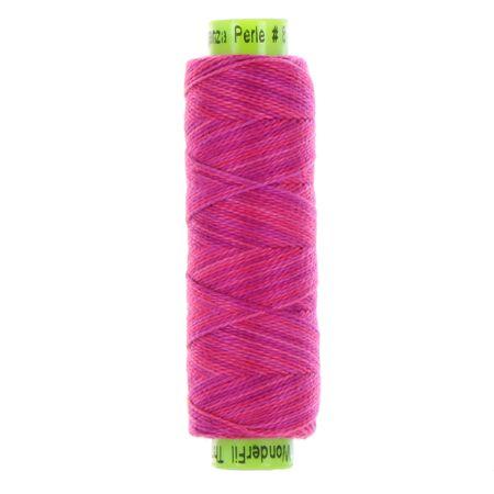 sue spargo eleganza variegated perle cotton fuchsia colours