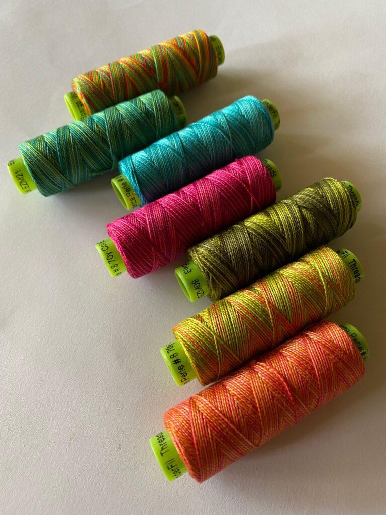 sue spargo eleganza variegated perle threads