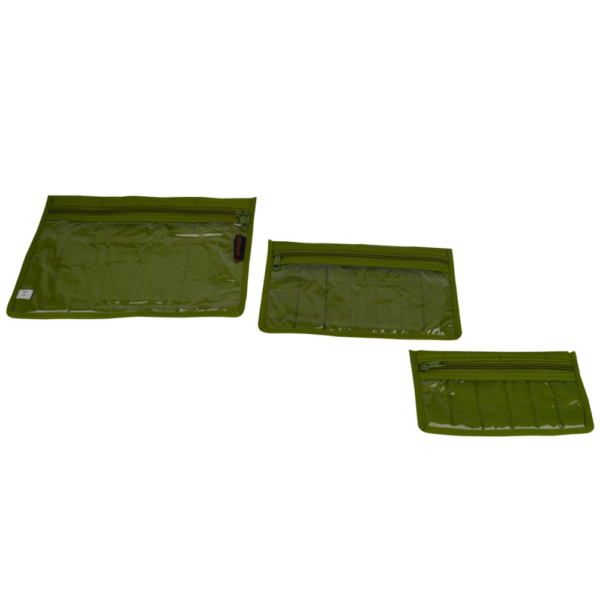green craft notions pouch set
