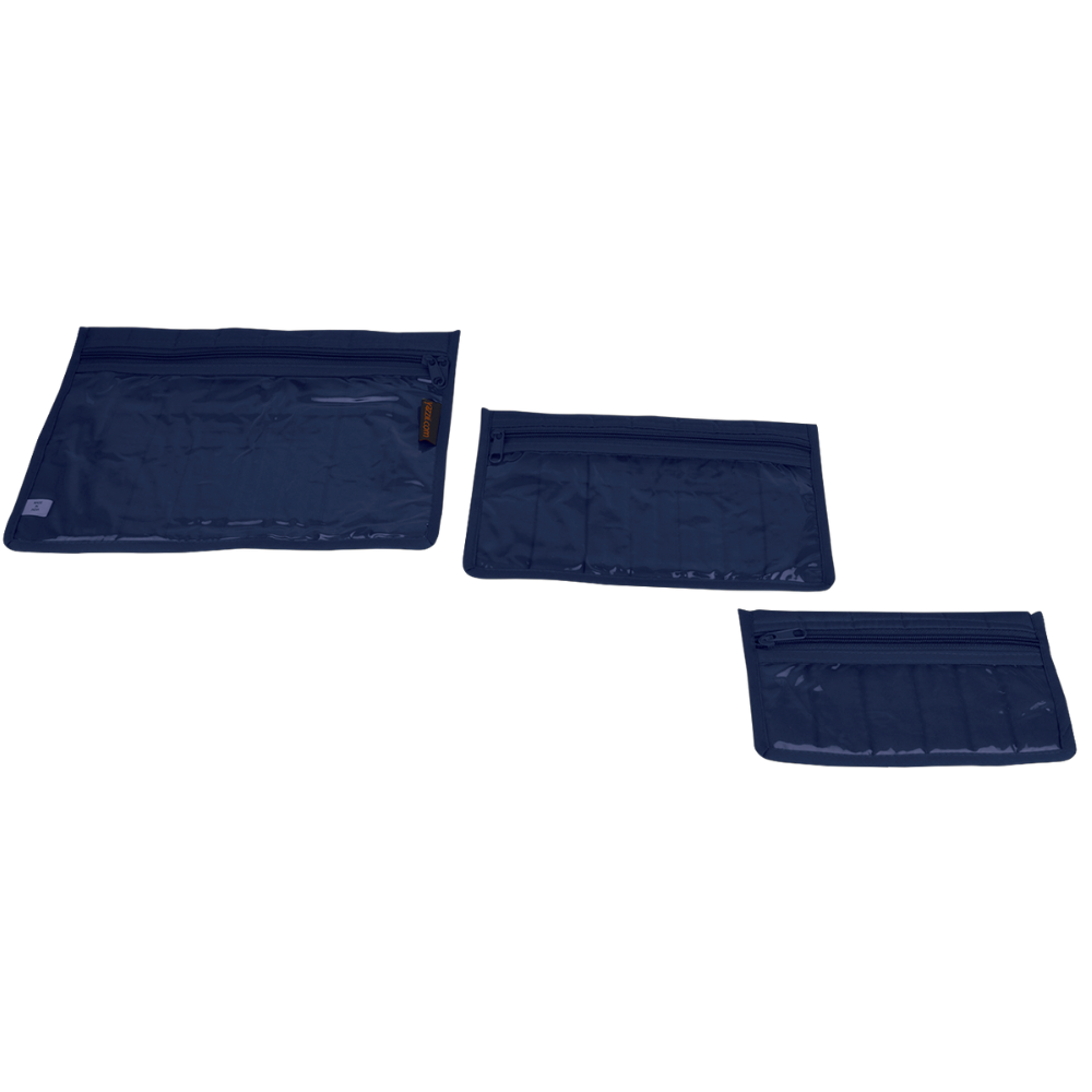 indigo craft notions pouch set